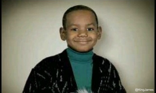 Lebron James Childhood Hairline