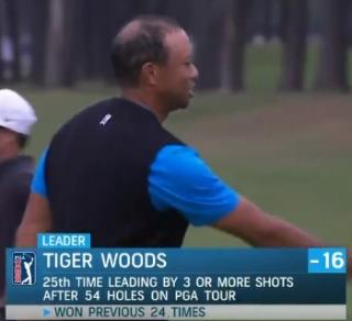 Tiger Woods Hair Loss.