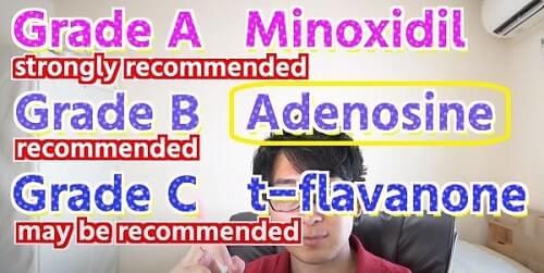 Adenosine for Hair Growth