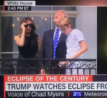 Trump Hair Eclipse