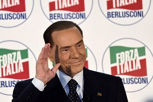 Silvio Berlusconi's Hairline in 2018
