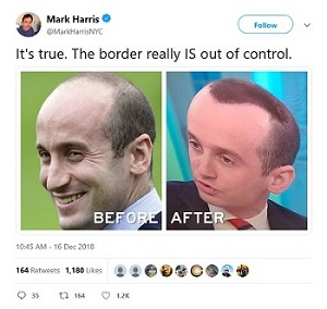 Stephen Miller Spray-On Hair Paint