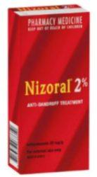 Nizoral 2% Dandruff Shampoo.