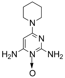 Minoxidil Chemical Structure.