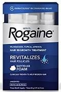 Rogaine (Minoxidil) Foam.