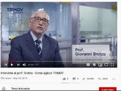 Dr. Brotzu Explaining Trinov