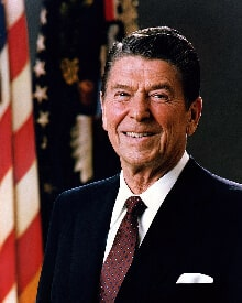Ronald Reagan Hair