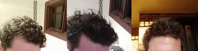 After Amino Acids Hair